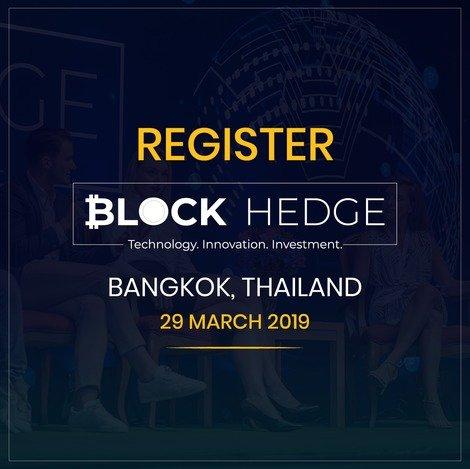 Best Blockchain Conference 2019, Block Hedge